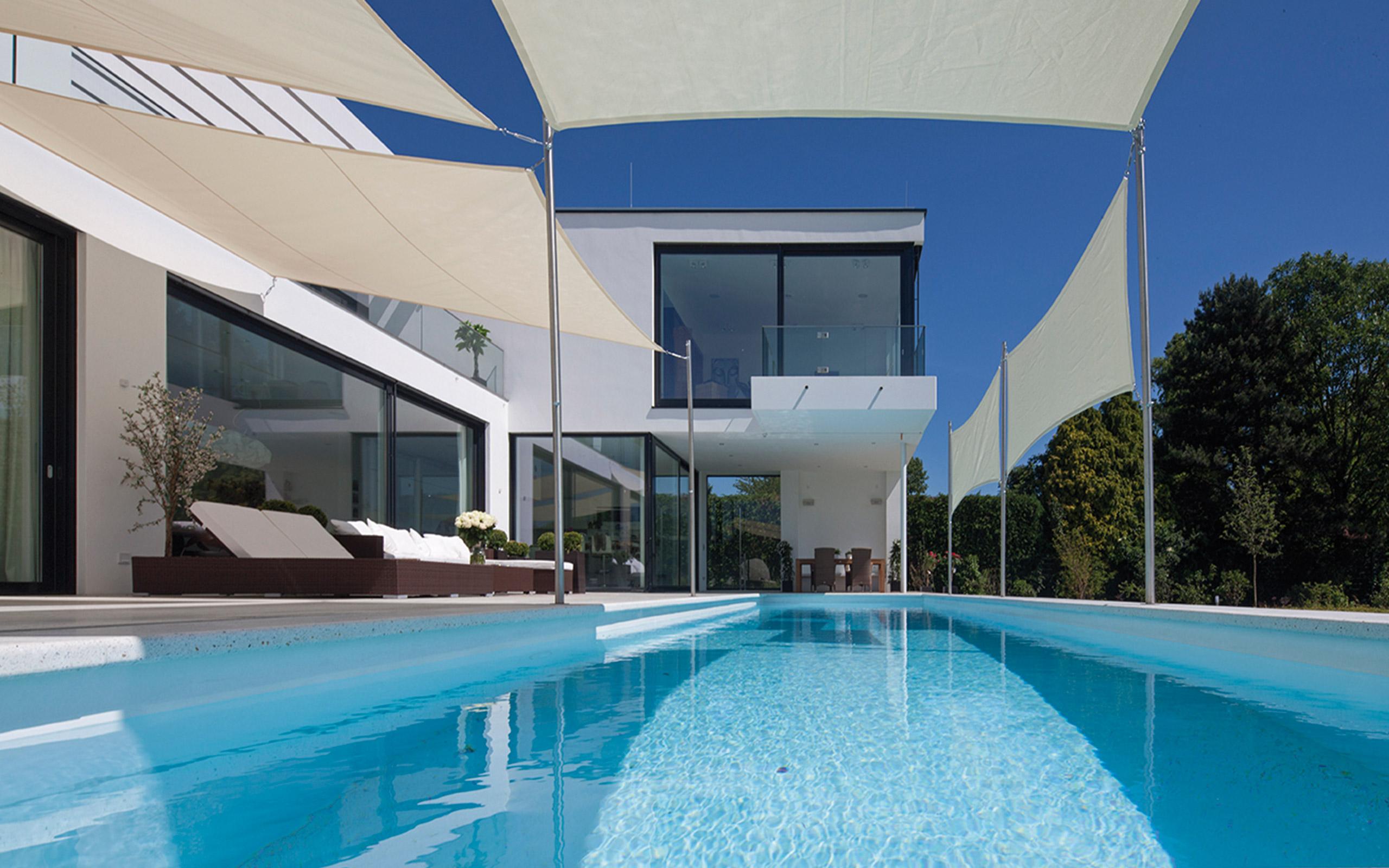 Inspirierend Eingebauter Pool Referenz Von